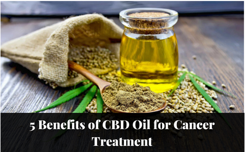 5 Benefits of CBD Oil for Cancer Treatment