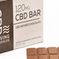Pure CBD Living Chocolate Bar