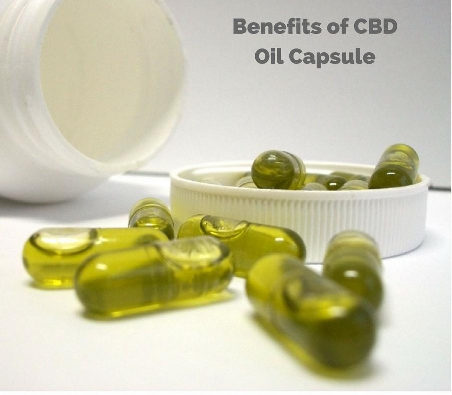 Benefits of CBD Oil Capsules