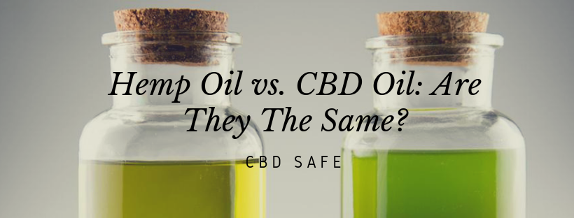 Hemp Oil vs. CBD Oil: Are They The Same?