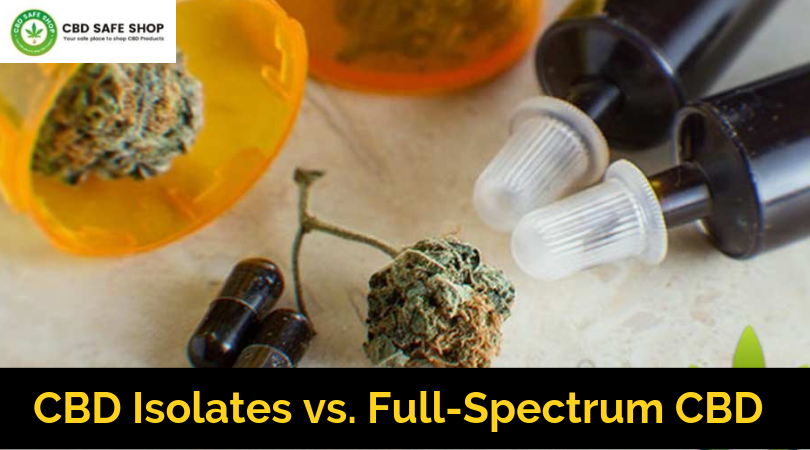 CBD Isolates vs. Full-Spectrum CBD: The Differences
