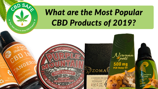 What are the Most Popular CBD Products of 2019?