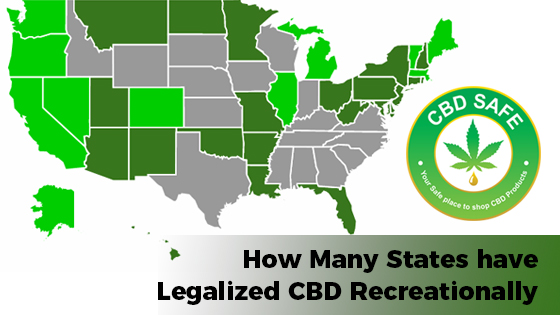 How Many States Legalized CBD Recreationally?