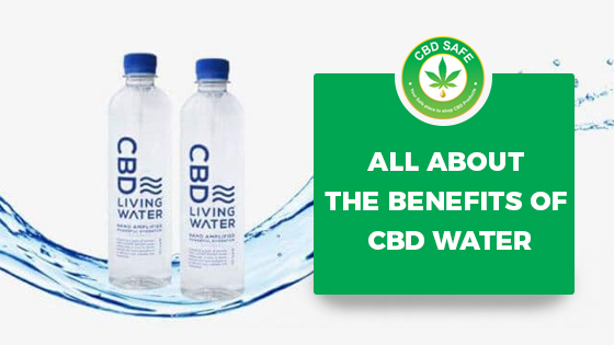 All about the Benefits of CBD Water