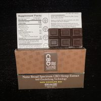 CBD Dark Chocolate Bar