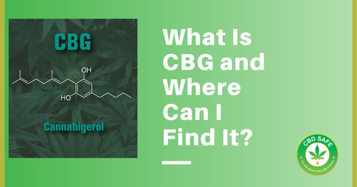 What Is CBG and Where Can I Find It?