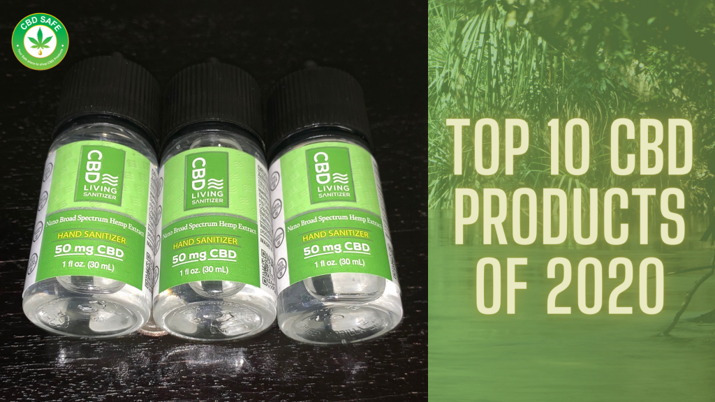 Top 10 CBD Products of 2020
