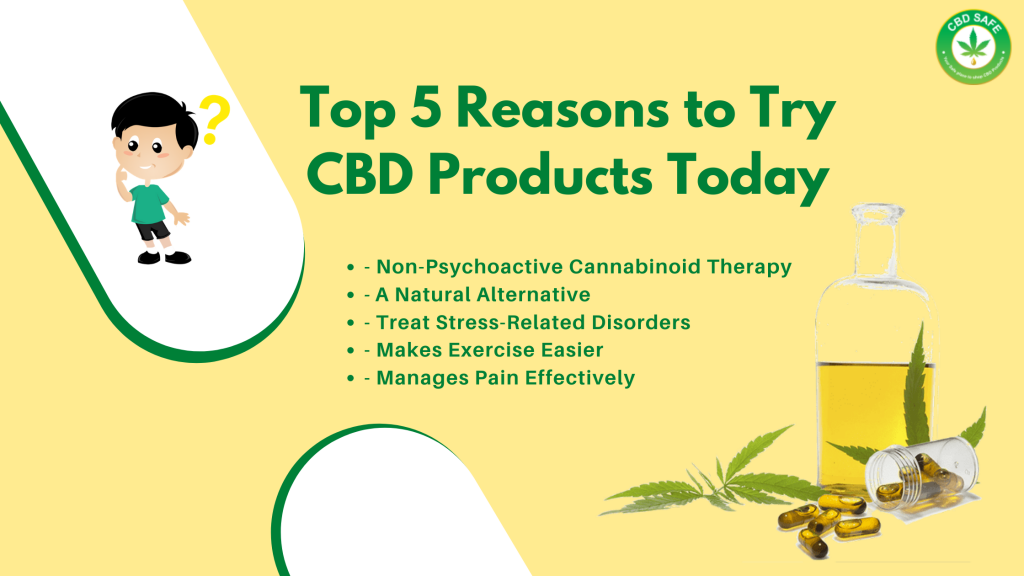 Top 5 Reasons to Try CBD Products Today